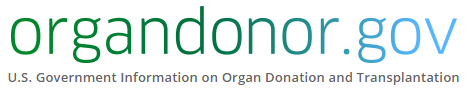 Official government organ donor site